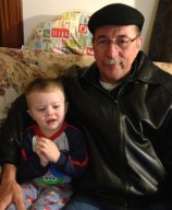 """Pop"" Paul and grandson"