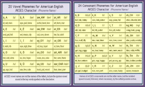 The International Phonetic Association (IPA) says American spoken English has 44 sounds—20 vowel sounds and 24 consonant sounds.