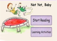 Not Yet, Baby iPad/iPhone book app