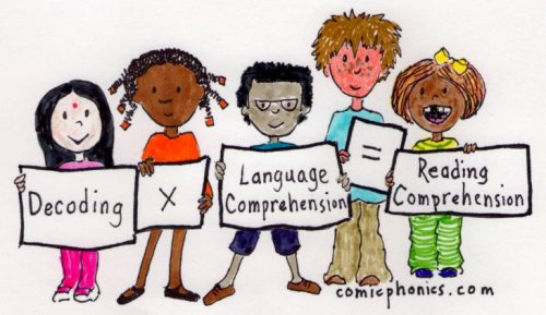 Decoding x Language Comprehension = Reading Comprehension