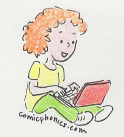 Child Browsing the Web