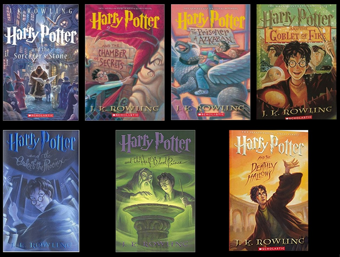 Harry Potter Book Read : What s the right age to read harry potter comicphonics